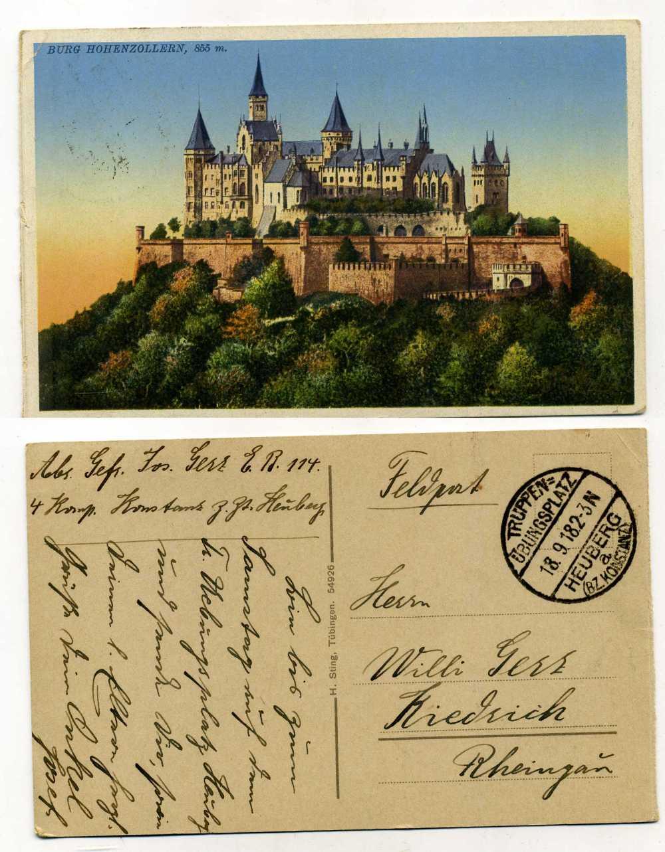 Какие открытки в германии