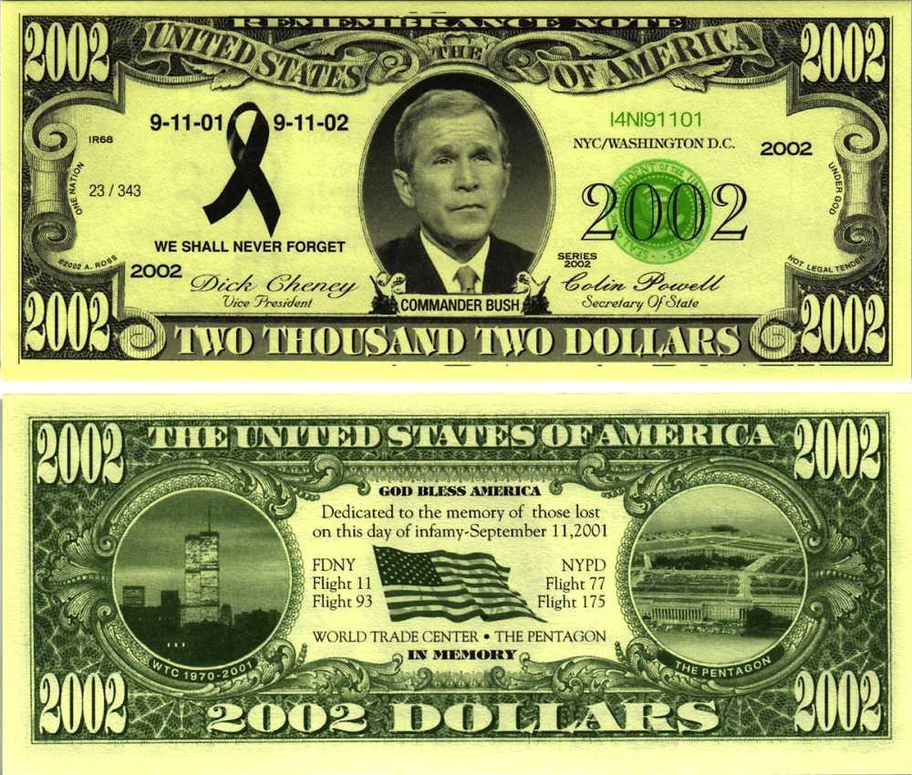 купюры доллар номиналы фото